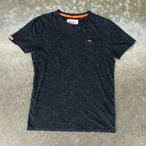 SuperDry Fabric Blend Pocket Soft S/S T Shirt L